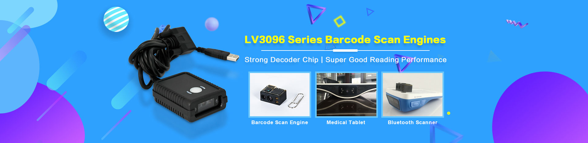 lv3096 series barcode scan engine