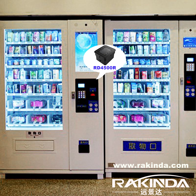 RD4500R embedded in self-service vending machine