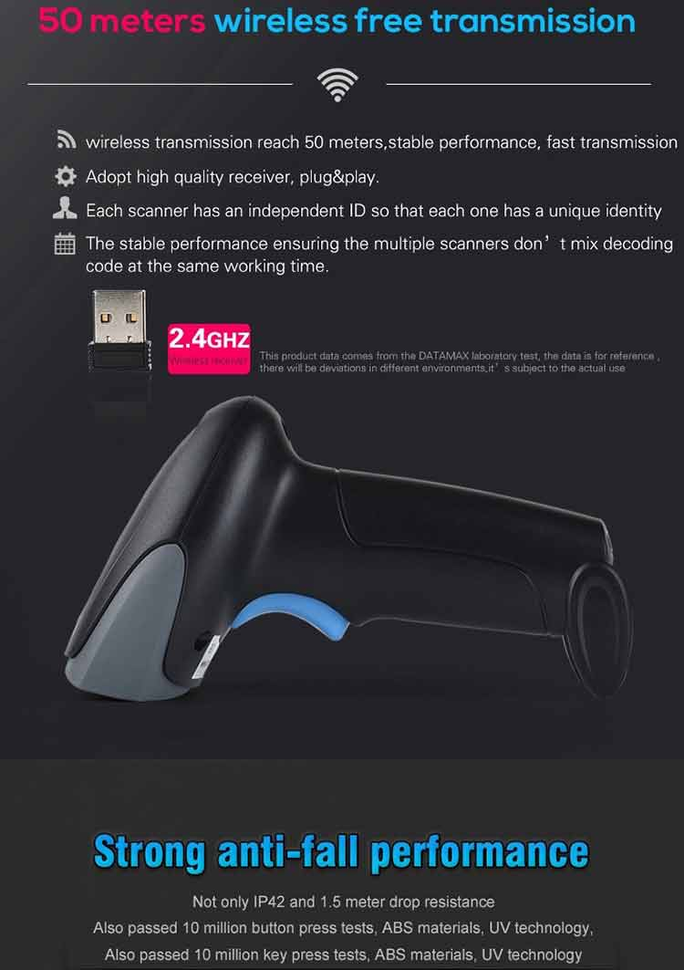 RK400S Wireless Scanner
