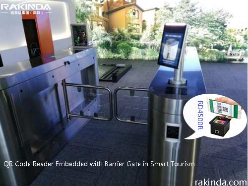 Application of QR Code Reader Embedded with Barrier Gate in Smart Tourism