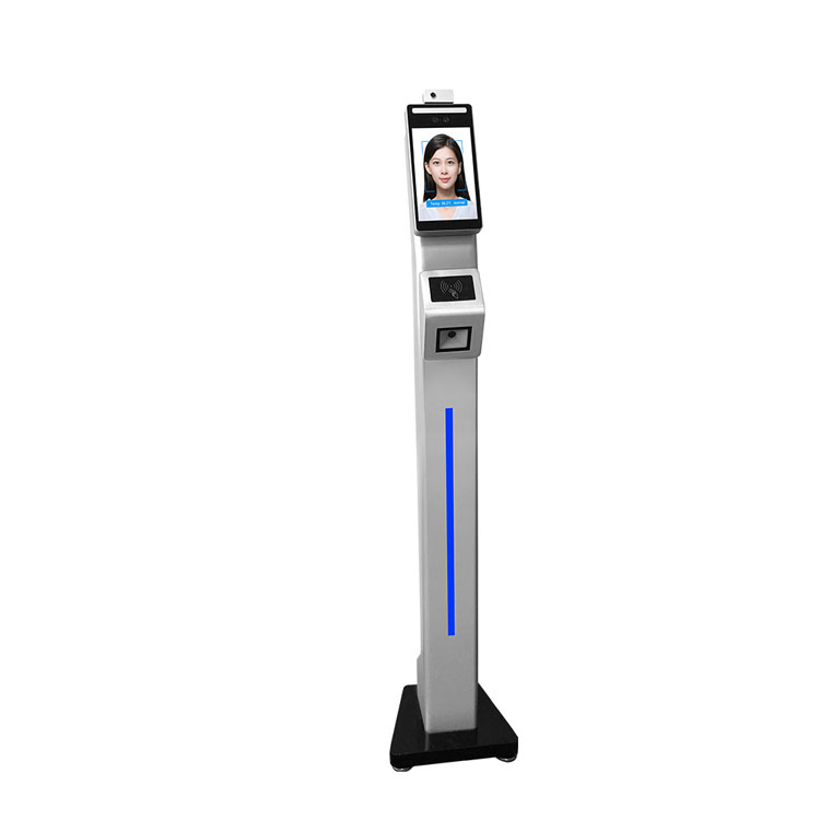 F2-FHS Touchless Face Recognition Body Temperature Integrated Machine