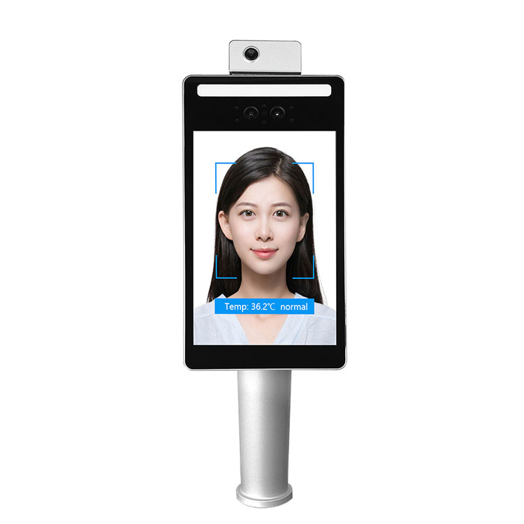F2-TH Face Recognition Infrared Temperature Measurement Terminal for Turnstile​
