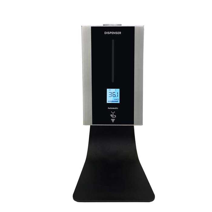 TF86 Touchless Stand Hand Temperature Test Sanitizer Dispenser